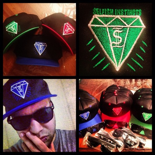 Ladies & Gentlemen, My Clothing Line $elfish Instinct$ now has snapbacks, they will be released this week! Keep your eyes peeled for a chance to win Free Sunglasses with your order! www.selfishinstincts.bigcartel.com