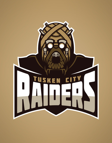 tiefighters:  Star Wars Sports Team Logos Created by David Creighton-Pester Prints, shirts, iphone cases, throw pillows, and tote bags available at Society6
