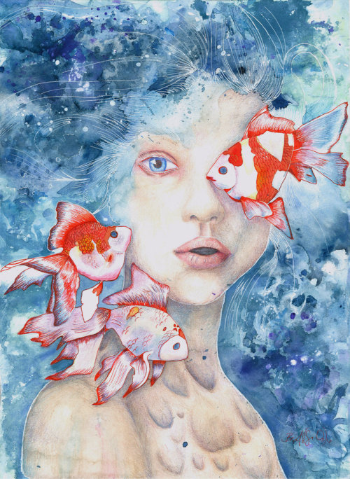 artmonia:  Under the Water and Dreaming by E. Barkley.