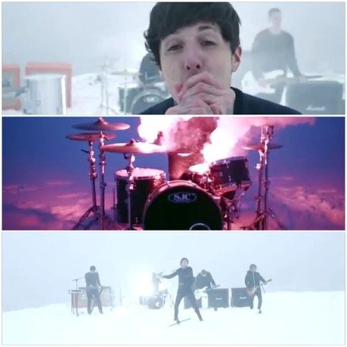 "Screenshot from brand new music video Bring Me The Horizon - ""Shadow Moses"" #Sempiternal #BMTH #ShadowMoses"