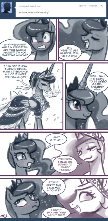 Ask Princess Molestia #271