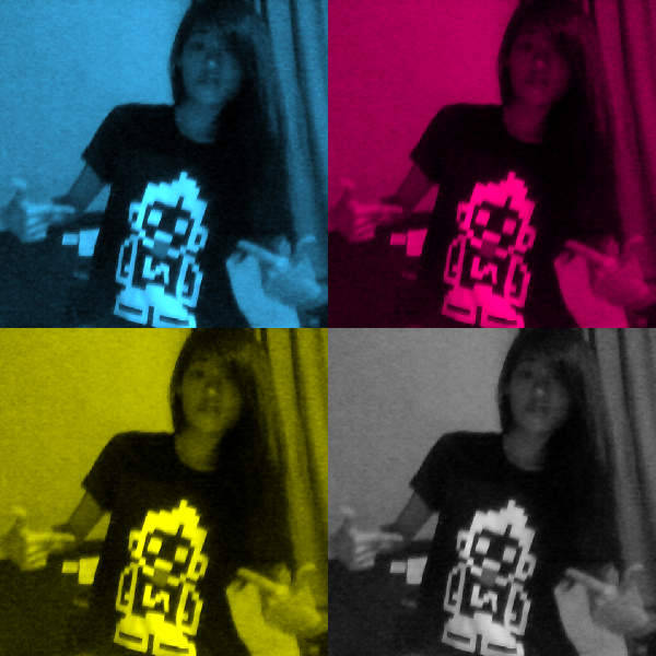 Featuring my sister's shirt, which I'm liking. HAHA! Mood: Cher Lloyd and Carly Rae Jepsen kind of day. :) ♥ JemynJayne