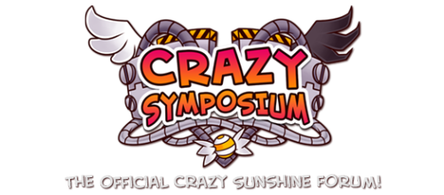 I made a forum for my webcomic Crazy Sunshine! Please, give it a look, and perhaps register if you are looking for a new place to hang out! Also, if you could share this post on your dash and let other people know, that would be swell too! Thank you for all your support!