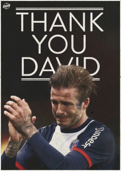 lukebarclaydesign:  Thank you David Beckham.