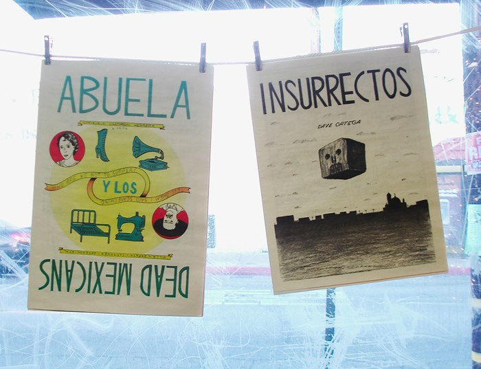 ABUELA and INSURRECTOS now available at Seite Books in East LA.