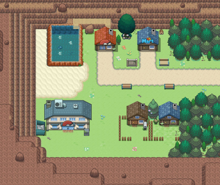 dualpaperbags:  First look at Lavaridge Town from the Upcoming Nintendo eShop-exclusive remake of Pokemon Ruby, Sapphire and Emerald