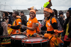Entre 2 Rives Carnival 2013 on Flickr.Bordeaux celebrates it's Carnival and the new Chaban-Delmas bridge despite the rain.