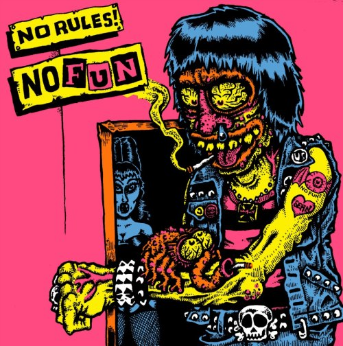 COVER I'M DOING FOR THE NO FUN COMPILATION FROM NO RULES RECORDS!!!