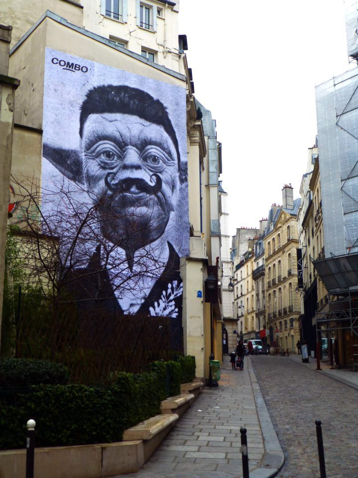 "amandaschneider:  Via StreetArtNews  ""Monsieur Yoda"" By Combo, Paris, France - Rue Des Petits Carreaux."