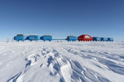 "The World's First 'Moveable City' Now Operational in Antarctica- Architizer wrote in Environment, Design and Living Call it this generation's ""Walking City."" Halley VI, the latest iteration of Britain's Halley Antarctic research stations, is now fully operational—and it walks, sort of. Halley VI opened today on the centennial commemoration of the first British Antarctic expeditions on the Brunt Ice Shelf, which launched an entirely new and incredibly fertile avenue of scientific research exploring the Earth's near-space atmosphere. Designed by Hugh Broughton Architects, the new ""re-locatable""—i.e. ""movable""—facility is the first of its kind in the world. This post is part of the GOOD community's 50 Building Blocks of Citizenship. This week, measure your carbon footprint. Follow along and join the discussion at #goodcitizen."