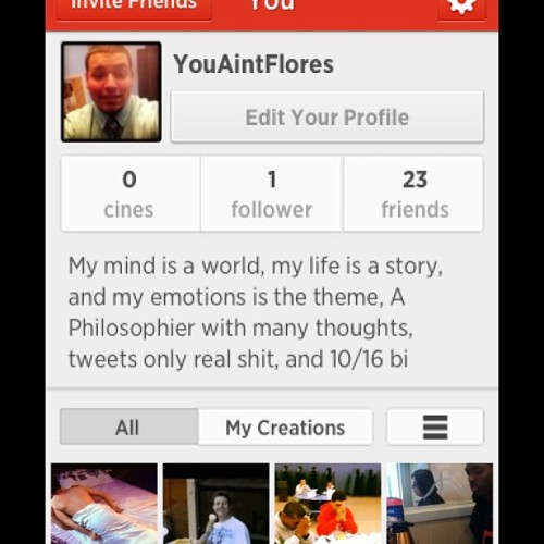 I'm new to this, Follow me #cinegram #snapshot #followback #dopestuff