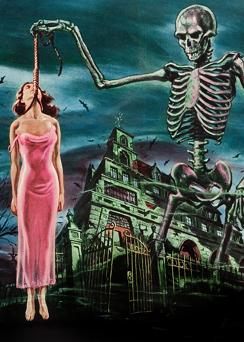 vintagegal:  Film poster for House on Haunted Hill (1959)