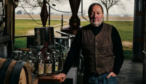 "theatlantic:  Whiskey Business  Craft distillers not only need to be knowledgeable in such arcane matters as the esoteric habits of yeast and the miraculous properties of copper; they also must be deft in navigating the complex regulatory geography. (As I once heard a tour guide at the Wild Turkey distillery explain: ""How do you make bourbon? You take some moonshine, put it in a barrel, and add a bunch of federal regulations."") Read more. [Image: Chris Langer]"