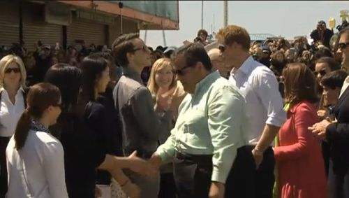 Prince Harry tours Seaside Heights, NJ with Governor Christie