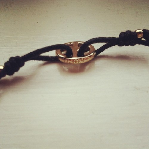 My beautiful Mulberry Peace bracelet from @maxhasanicehat never want to take it off #mulberry #designer #bracelet #jewellery