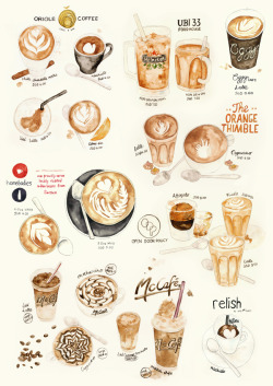 artpixie:  Coffee Collection (by The Lily X)