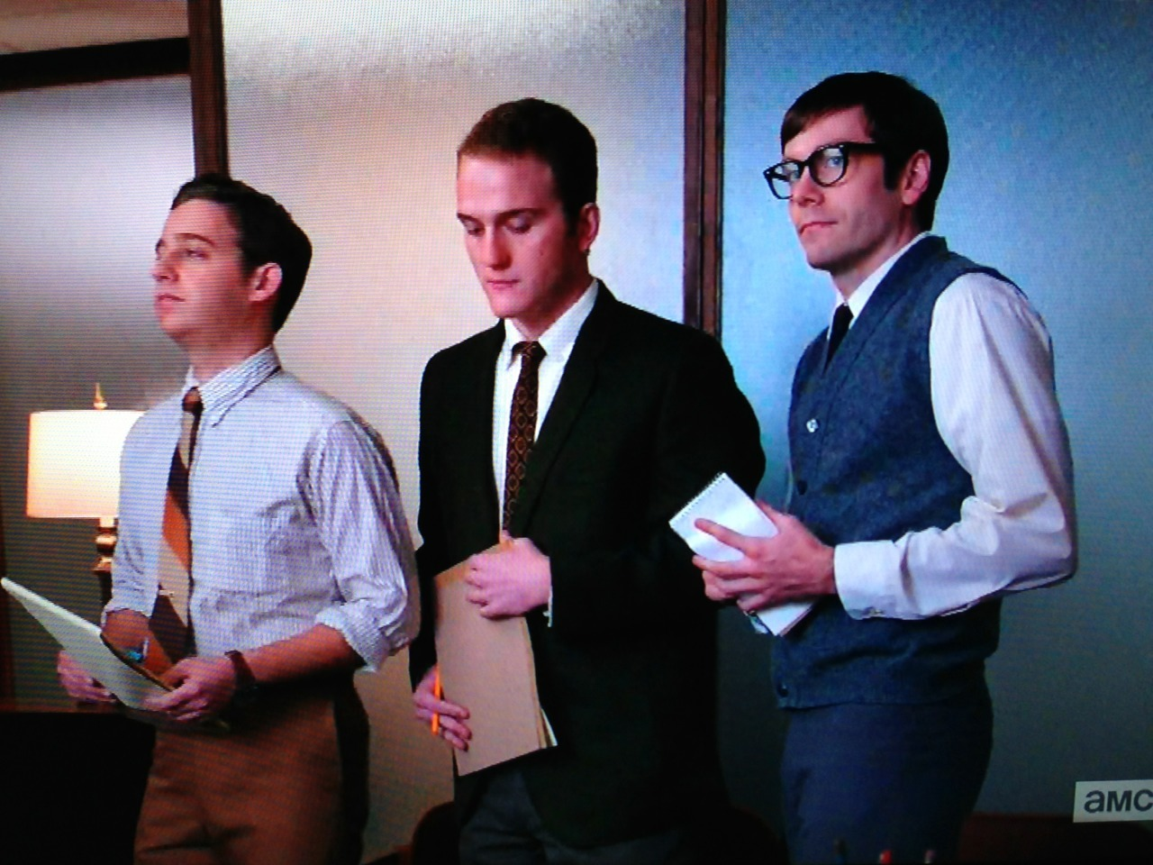 "Watching this week's Mad Men and had to pause it because that is definitely Cereal Guy from the web series ""Hipsterhood"" on Peggy's creative team!!!"
