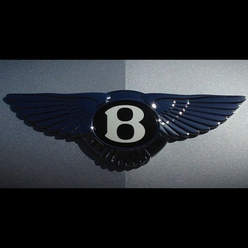 """B"" with Wings over the grill. #Bentley"