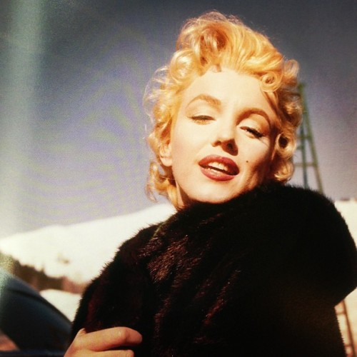 #MarilynMonroe from But That's Another Story: A Photographic Retrospective of Milton H. Greene by Amy and Joshua Greene, published by powerHouse Books.