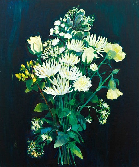 Nicola Bealing Petrol Station Forecourt Flowers, Winter White Bouquet (25% Extra Free) 2011