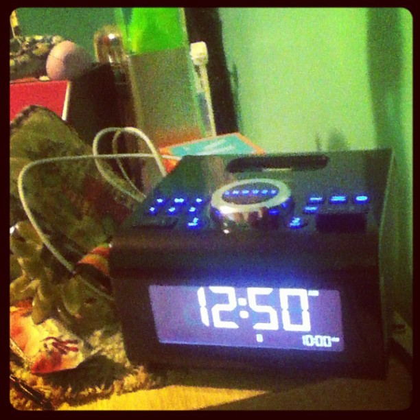 My new alarm clock is huge and I love it!!! Paid 1/2 of the full price!!!