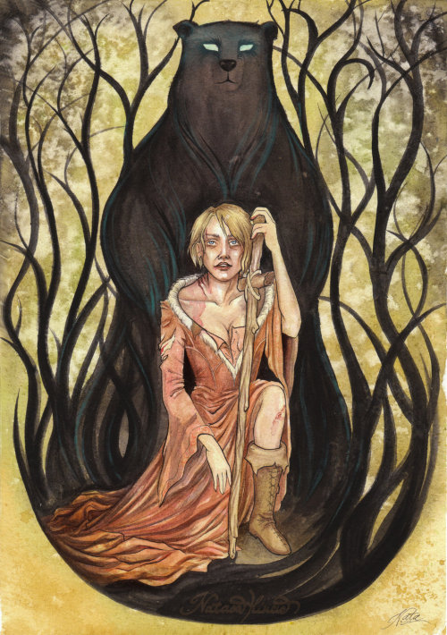 galleryofthrones:  The Bear and the Maiden Fair by ~UnripeHamadryad
