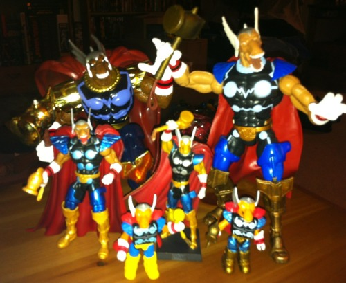 My Beta Ray Bill collection.