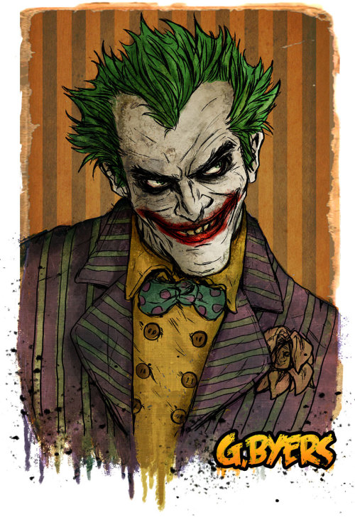superheroes-or-whatever:  Joker-Oct,3 by *GarrettByers