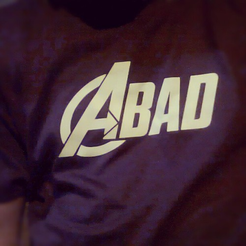 Official Abad Shirt!