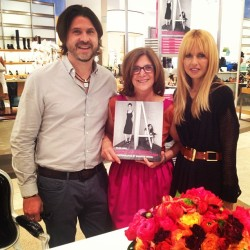 ".@rbermanus and me with the amazing Sharon Socol for her ""Plus One"" book signing!"
