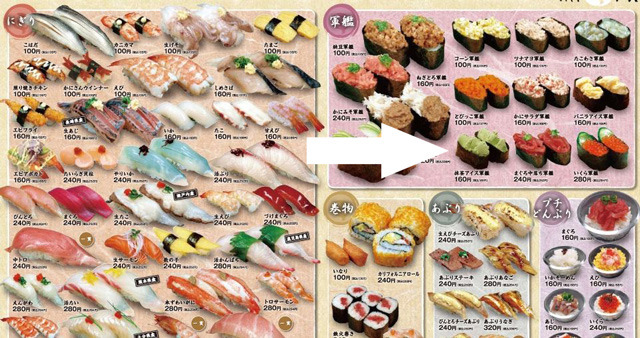 laughingsquid:  Japanese Restaurant Chain Now Serving Ice Cream Sushi