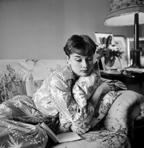 inlovewithaudreyhepburn:  Audrey Hepburn At Home In London 1951
