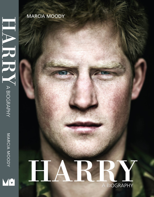 contourbygettyimages:  Prince Harry photographed by Robert Wilson appears on the cover of this new biography by Marcia Moody.