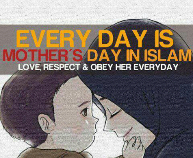 Muslims don't see any significance in the celebration of Mother's day, Women's day, Valentine's day etc. Simply because these are not legislated by Allah. Let's love our parents, respect women, show compassion to our spouses all through the year. Our Lord wants us to be dutiful all through the year; not to just cheer aimlessly for a day. (via Im a Muslim & Im Proud )