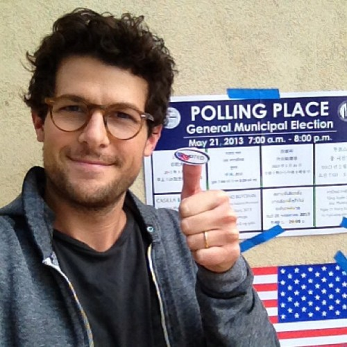 Vote today, Los Angeles! (at Silver Lake Recreation Center)