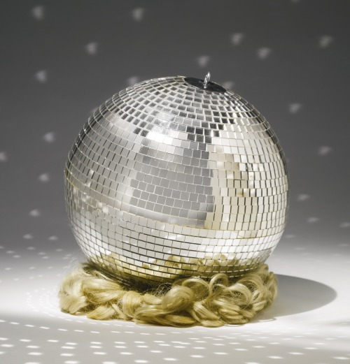 Martin KippenbergerDISCO BOMB, 1989 glass, other synthetic materials, mirrored disco ball and synthetic hair wig