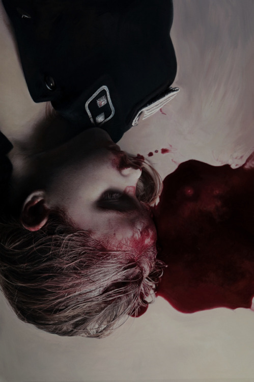disastersofchildhood:  Gottfried Helnwein's paintings speak for the children who were subjected to human experimentation and death at concentration camps during the holocaust.