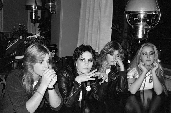suicidewatch:  The Runaways, 1978