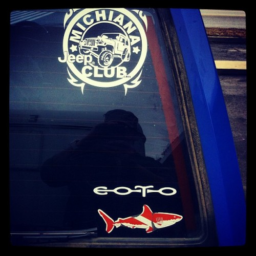 New sticker. #jeep vs. #eoto
