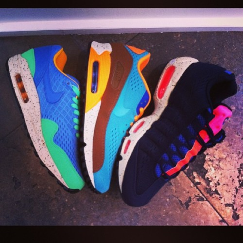 coletteteam:  Nice Colors Nike Air Max #colettestore #colette #street @nike @nikestadiums just arrived