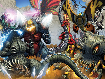 Godzilla Ongoing 11-12 Full Battle! by *KaijuSamurai