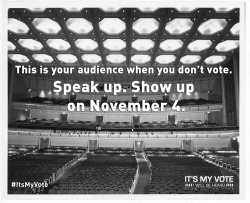Make your voice heard on November 4. Go to www.aauwaction.org to verify your voter registration.