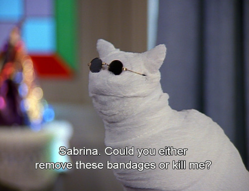 frickyeah1990s:  If I were a cat, I'd be Salem Saberhagen