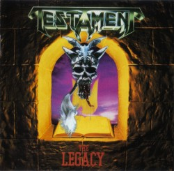 blood-drive:  Testament - The Legacy 1987