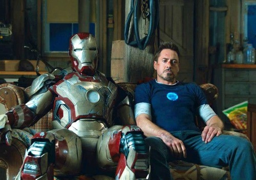 "I watched Iron Man 3 last night. And, it's just too great! I love RDJ so much :"")"