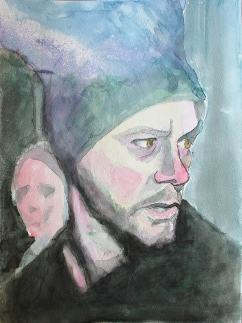 Eternal Sunshine of the Spotless Mind - watercolor