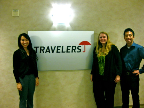 Blog #7: Michelle Lau- Travelers Insurance Diamond Bar office with host Kristen