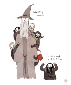 gingerhaze:  HOBBIT DOODLES