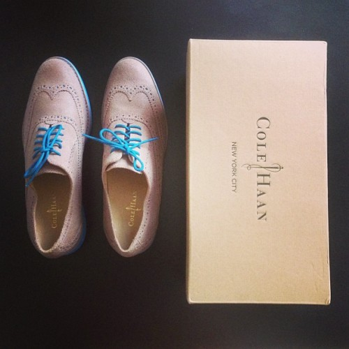To stepping forward on a new journey #nyc #colehaan #columbia
