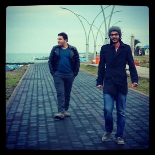 #Trabzon #Sahil #Dost #Muhabbet Yuzlerce arkadasin olacagina uc bes dostun olsun yeter. #Omerrsahin ne geziydi be :)